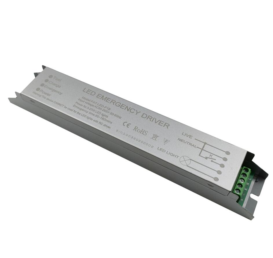 emergency battery backup for led tube