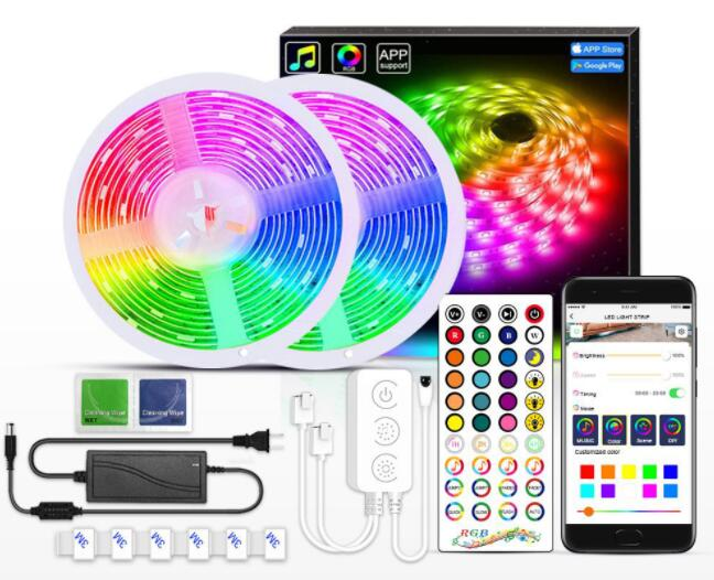 5050 RGB Bluetooth Music Chasing  strip